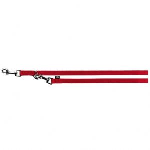 Trixie Premium Adjustable Dog Leash, X-Small/Small, Red
